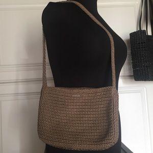 the Sak Woven Shoulder Bag
